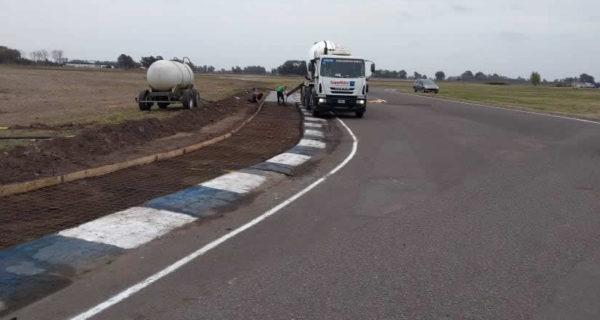 Obras que se realizan en el autodromo