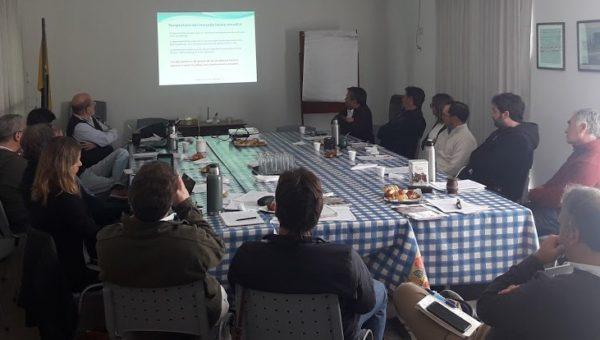 Reunion de la junta de representantes de Caprolecoba en 9 de Julio