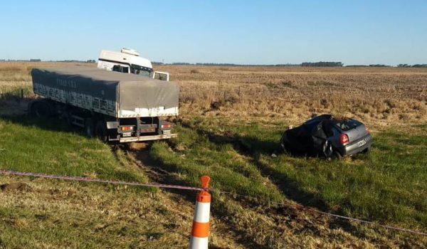 Ambos vehiculos que protagonizaron el fatal accidente