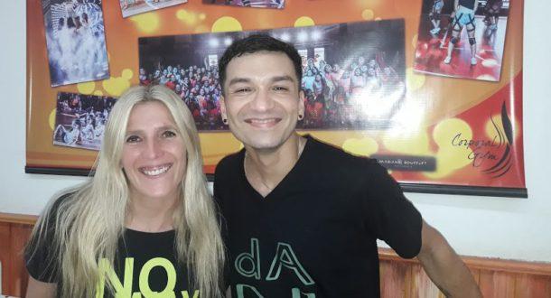 Andrea Amaya y Quique Perez