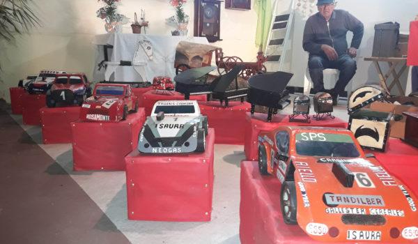 Autos de TC en escala