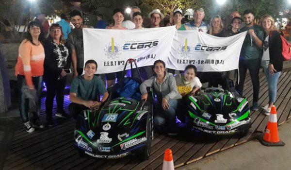 El equipo de la Tecnica 2 en San Luis