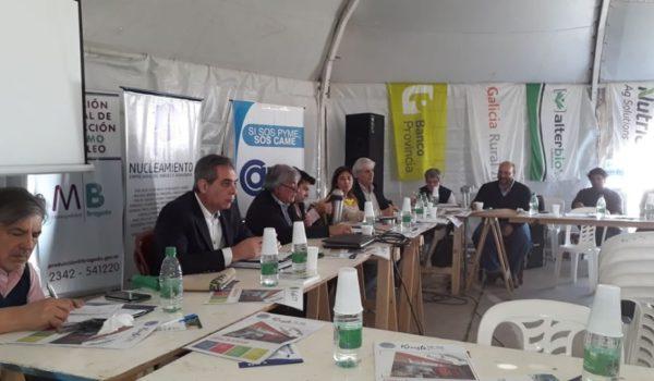 Instancia de la reunion del Nucleamiento Empresarial