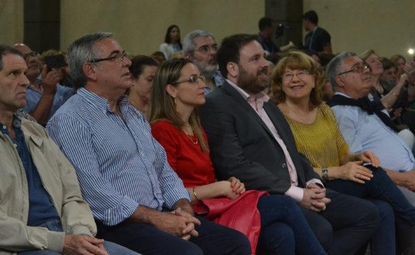 Jorge Della Rocca, junto al Secretario de Vivienda y Urbanismo, acompañando al presdiente de la CEyS Mariano Moreno, Matias Losinno