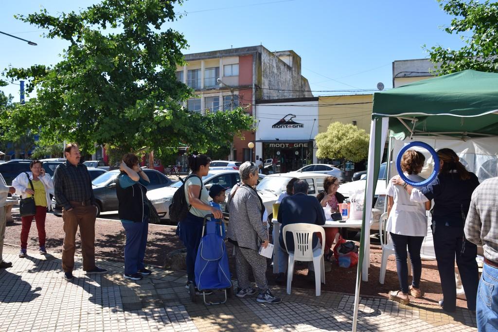 En plaza Belgrano: Este jueves 14 se desarrolla la jornada de concientización sobre diabetes