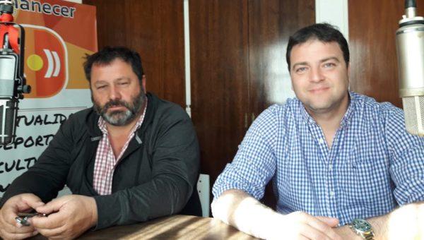 Mariano Barroso y Enrique Merlo en FM Amanecer