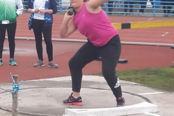 Nicole durante su lanzamiento el ultimo lunes