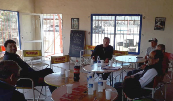 Reunion entre la CDA, Automoto Club y el Intendente Barroso