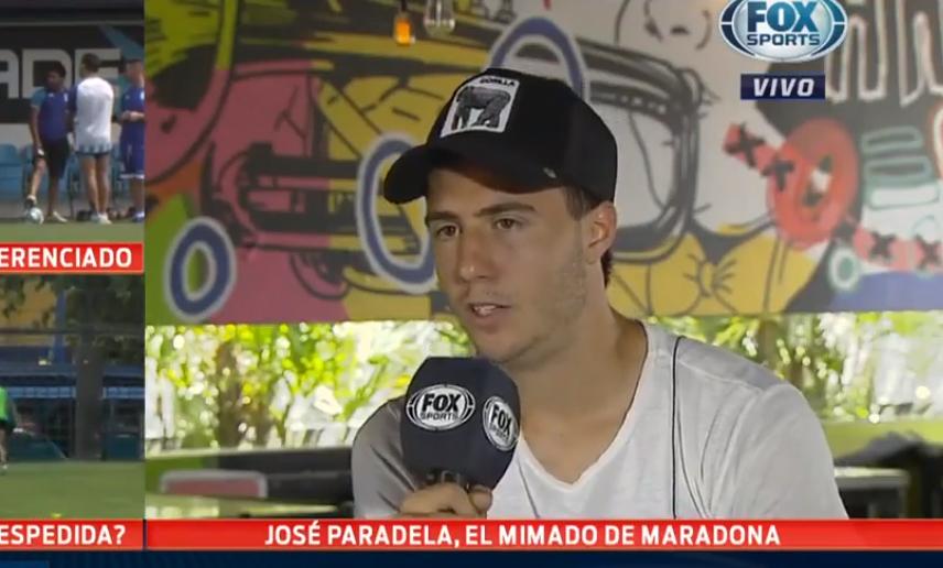 Jose Paradela, de Facundo Quiroga a los elogios Maradona