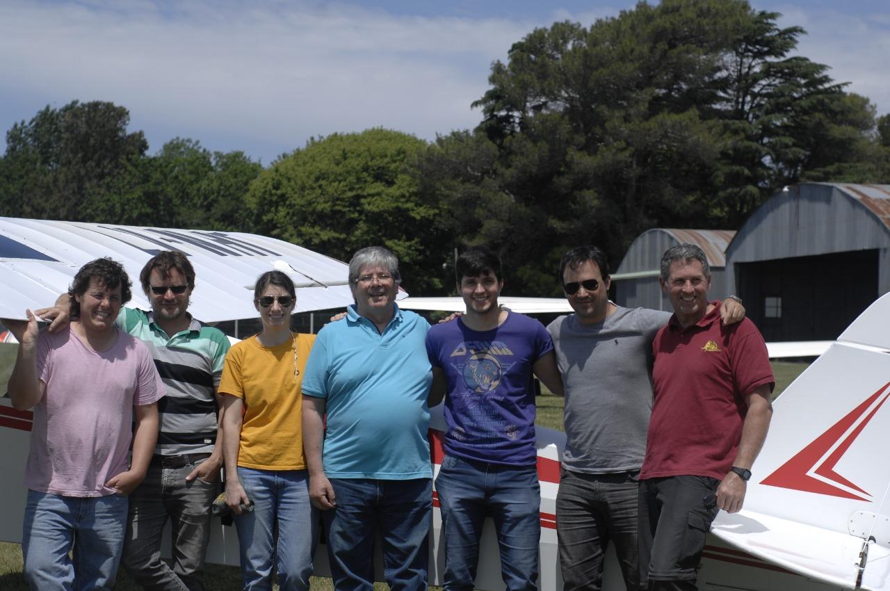 En crecimiento: Nuevos pilotos egresaron del Aero Club 9 de Julio