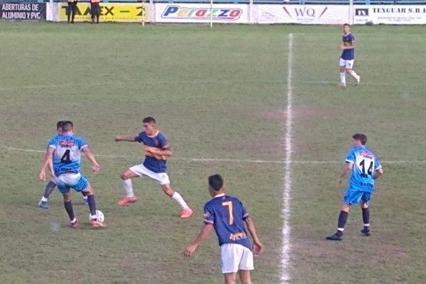 Tramo del partido entre San Martin y Boca de Casares