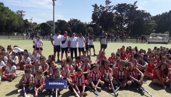 El Hockey femenino de Dudignac participo de un torneo provincial en Mar del Plata