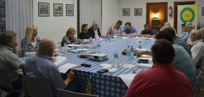 Reunion de CD en Sociedad Rural de 9 de Julio