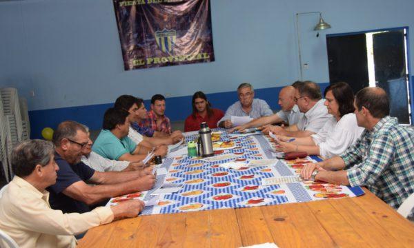 Reunion de Delegados en El Provincial