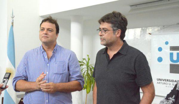 Barroso y Panunzzio brindaron detalles de la carrera