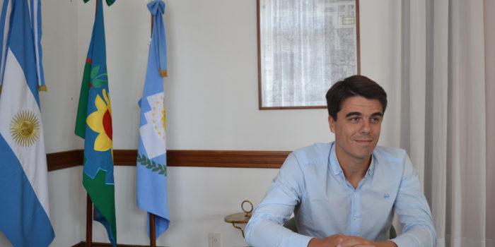 Paolo Barbieri, asumio hoy miercoles su funcion de intendente interino