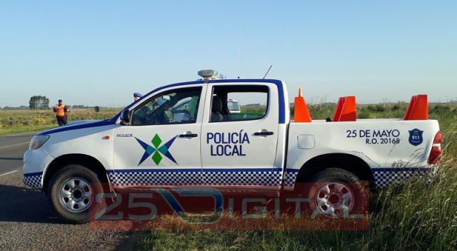 Un productor rural fue víctima de un robo con arma de fuego