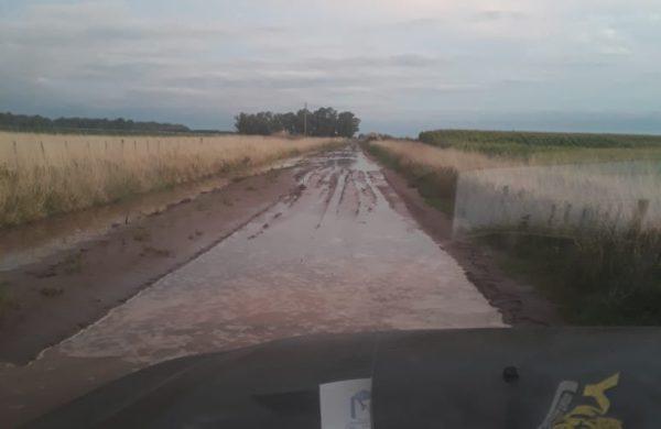 Camino rural en zona de Naon