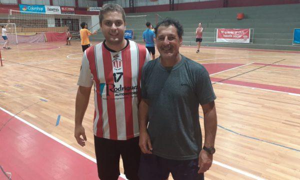 Gustavo Santilli y Matias Rodriguez
