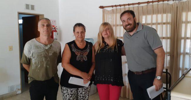 Jose María Arcucci, Graciela Coronel, Ana Gentile y Ana María Gentile.