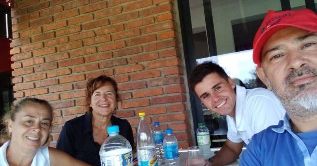 Julio Smith, Renzo Vazquez, Claudia Torrelles y Nancy Amado