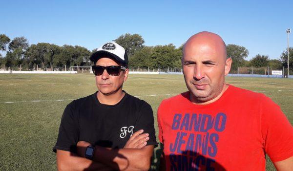 Rodrigo Guarino junto al productor artistico de La Konga