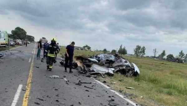 Terrible accidente en ruta 33