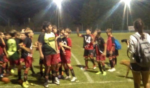 Uno de los equipos de Sportivo Bragado Campeon en el Lagunerito