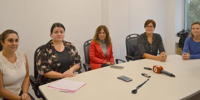 Integrantes del Comite de Crisis de Salud 9 de Julio