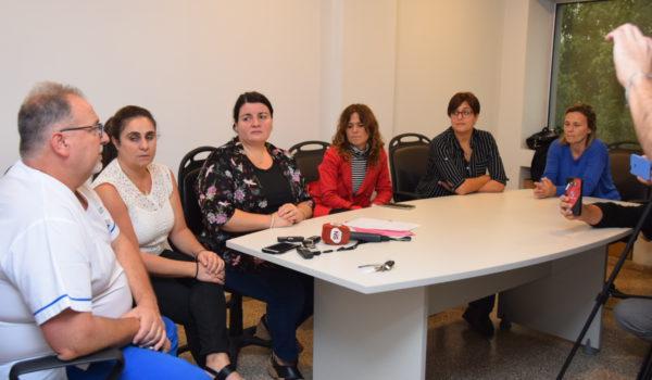 Integrantes del Comite de Crisis en 9 de Julio