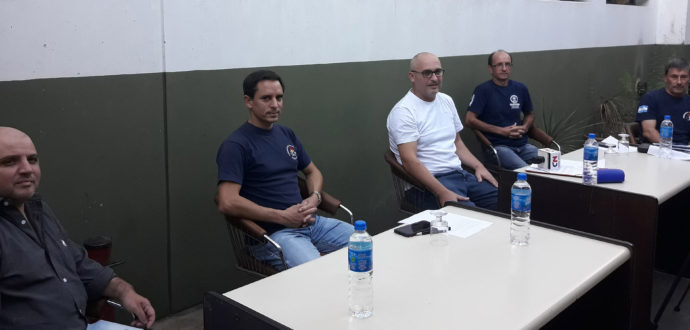 Loia, Barreau, Del Castillo, Fernandez y Gatti brindaron detalles este lunes a la prensa