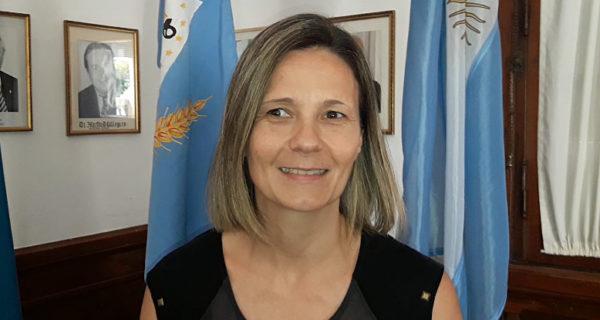 Maria Jose Gentile, presidente del Concejo Deliberante de 9 de Julio