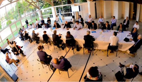 Reunion en Olivos – foto presidencia de la Nacion