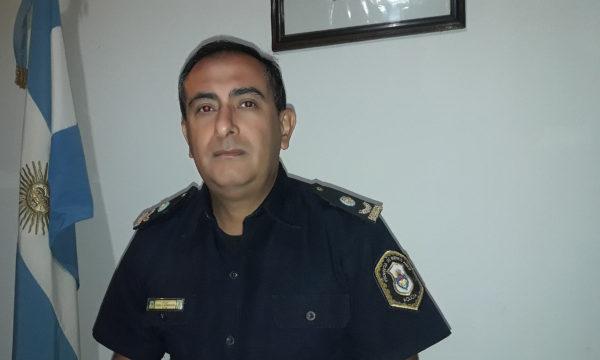 Comisario Insp Gustavo Quemehuencho