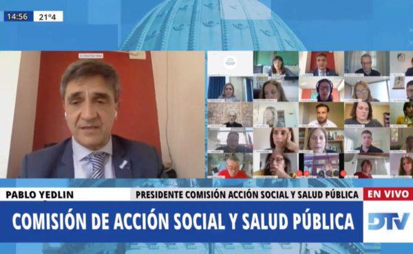Comision de Accion Social y Salud Publica de HCDN – captura pantalla DTV