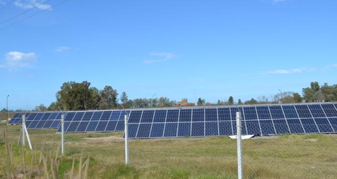 Parque foto voltaico construido en Facundo Quiroga