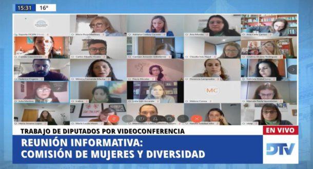 La Comisión de Mujeres en Diputados tuvo su reunión este martes 2