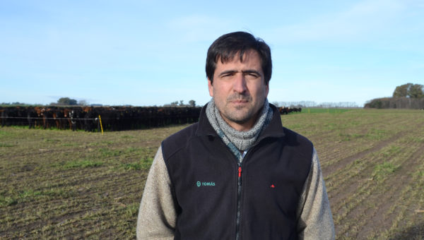 Juan Yaquinta, presidente de Regional Aapresid 9 de Julio- Casares