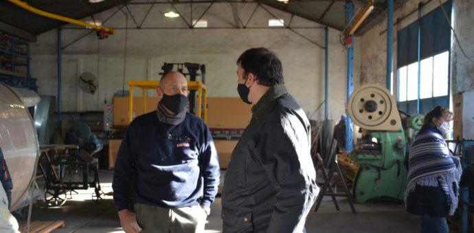 Barroso junto al empresario Alberto Cortes