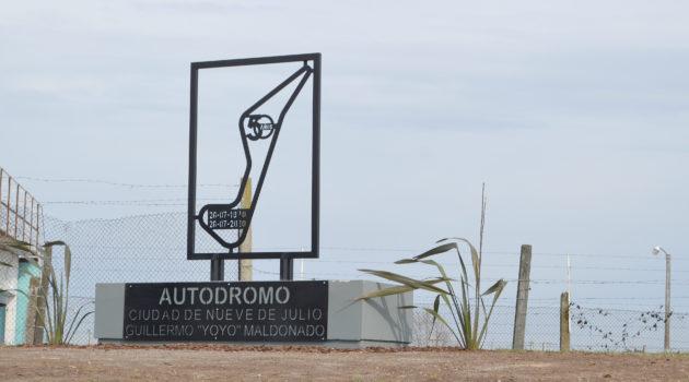 Lugar que fue descubierto este domingo y que impone el nombre de Guillermo Yoyo Maldonado