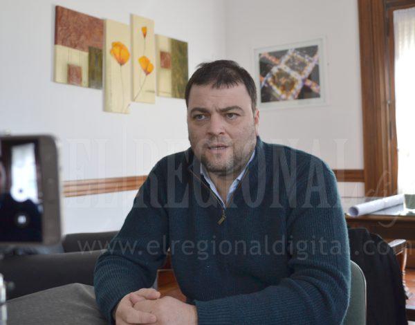Intendente Mariano Barroso en dialogo con El Regional Digital