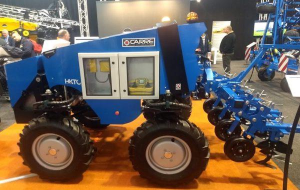 El robot Anatis de la empresa francesa Carré está diseñado para el control mecánico, químico o eléctrico de malezas.