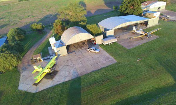 Hangar en 9 de Julio cumpliendo con normativas de medio ambiente
