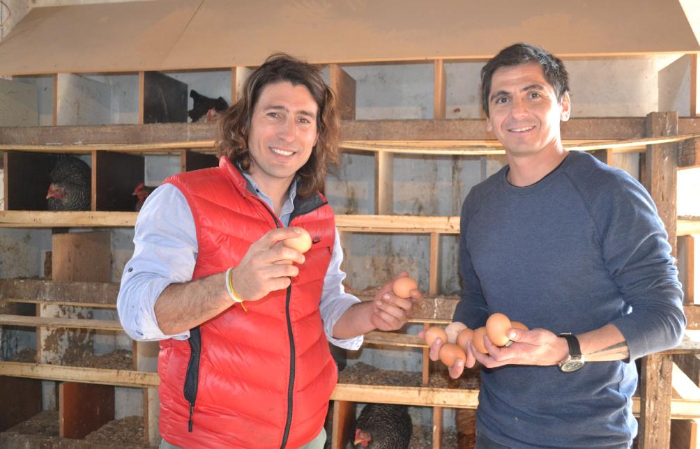 Emprendimiento avícola recibe un aporte económico del Municipio