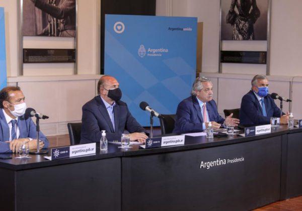 Alberto Fernandez secundado por gobernadores