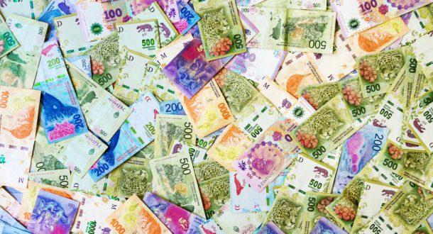 Billetes de la economia argentina