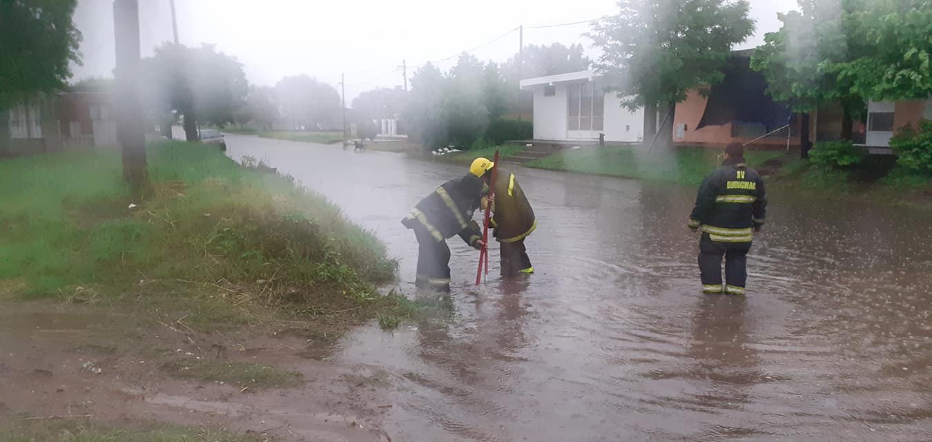 El registro de lluvia en el distrito de 9 de Julio es de 23 mms. a  58 mms