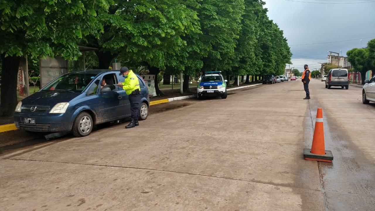 Policía Comunal 9 de Julio aprehendió a tres personas, intervino contra la violencia de género y desarrolló un amplio operativo vial