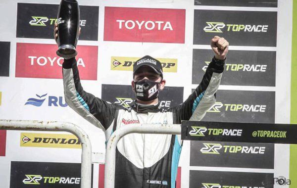 Francisco Martinez, hizo doble podio en el Galvez en su debut en la categoria