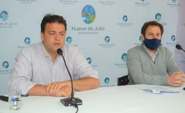 Mariano Barros junto al Secretario Legal y Tecnico Dr Juan L Buonano
